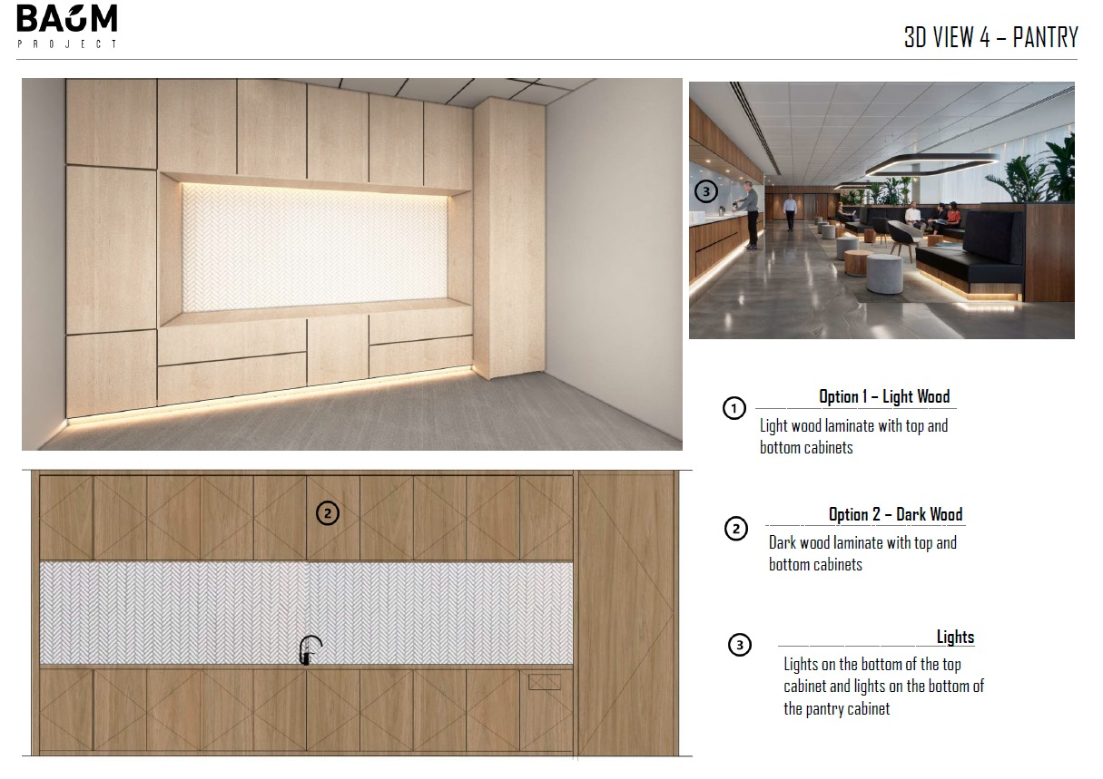 Design-Highlight Your Office Pantry
