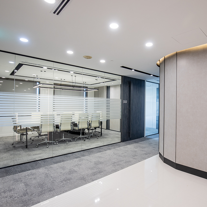 East Bridge Partners Office Space Interior Designs by Baum Project