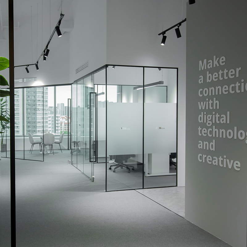 FSN Asia Office Space Interior Design by Baum Project