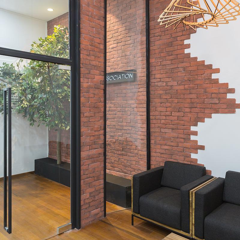 Korean Association Singapore Office Space Interior Design by Baum Project